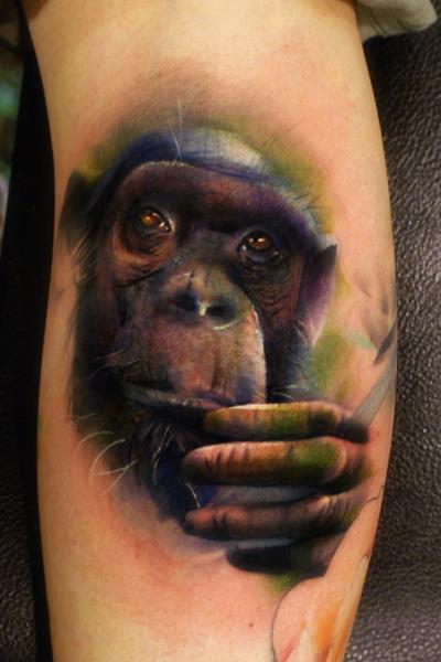 chimp-tattoo-by-joshua-carlton